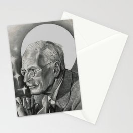 Father of Analytical Psychology Stationery Cards