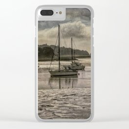 The River Deben at Woodbridge Clear iPhone Case