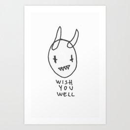 WISHYOUWELL Art Print