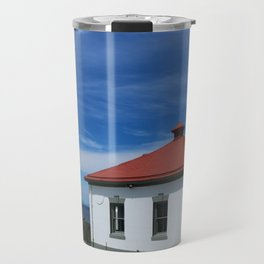 Alki Point Light Travel Mug