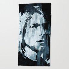 Kurt# Cobain#Nirvana Beach Towel