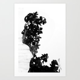In My Head.  Art Print