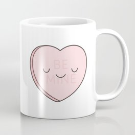 Pink Sweet Candy Heart Coffee Mug