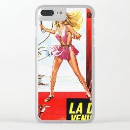 La Donna Venuta Dal Passato Clear iPhone Case