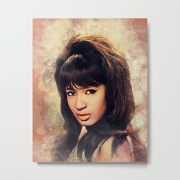 Ronnie Spector, Music Legend Metal Print
