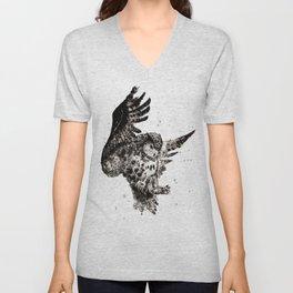 Owl Ink Unisex V-Neck