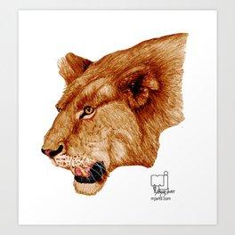lion 1 Art Print