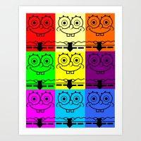 spongebob Art Prints featuring Spongebob by chauloom