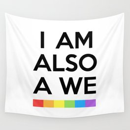 I AM ALSO WE - SENSE 8 Wall Tapestry