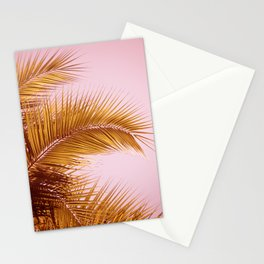 Rose Gold Tropics Stationery Cards