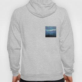 infinite blue of sea and sky Hoody