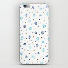 Watercolour Daisies & Stars iPhone & iPod Skin