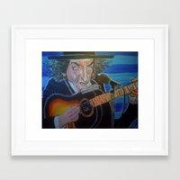 dylan Framed Art Prints featuring Dylan by Robert E. Richards