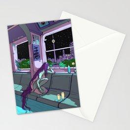 Berlin by night Stationery Cards