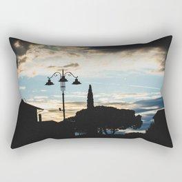 Italian cloudy evening Rectangular Pillow