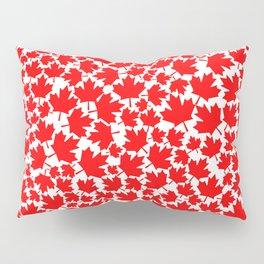 Canadian fall / Canadian flag maple leaf pattern Pillow Sham