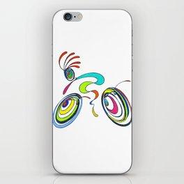 Bicycle - Kokopelli rides again iPhone Skin