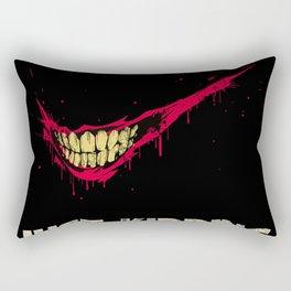 Just Kidding. Rectangular Pillow