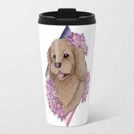 Doodle Pup Portrait Travel Mug