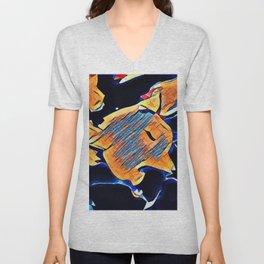 Hot Lava ~ Fox Unisex V-Neck