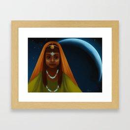 Cresent Framed Art Print