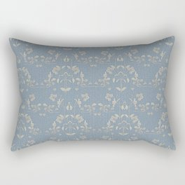 Repeating pattern in muted tones part III Rectangular Pillow