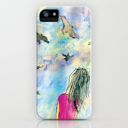 I wish I knew how it would feel to be free iPhone Case