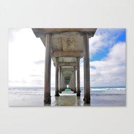 Scripps Pier, San Diego Canvas Print