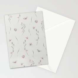 Delicate Flower Pattern  II Stationery Cards