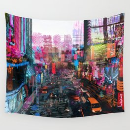 Sweet City Wall Tapestry