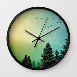 Rise Above It Wall Clock