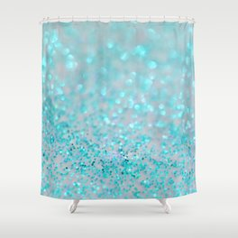 Sweetly Aqua Shower Curtain