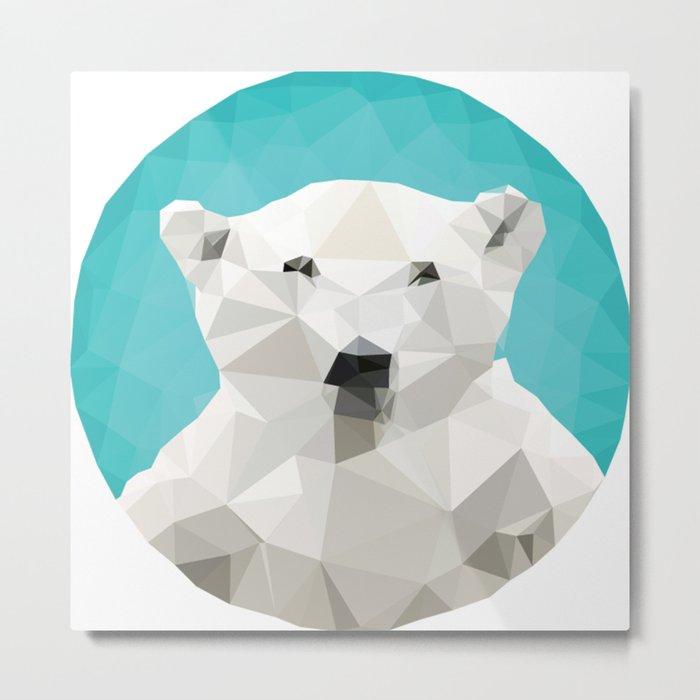 ♥ SAVE THE POLAR BEARS ♥ Metal Print