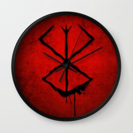 The Berserk Addiction Wall Clock