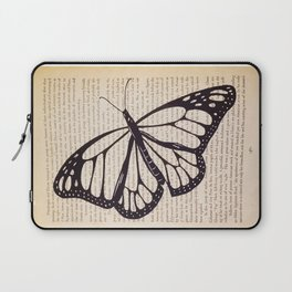 Butterfly in a Book Laptop Sleeve