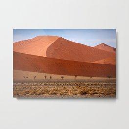 NAMIBIA ... Namib Desert Dunes II Metal Print