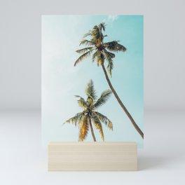 Palm Tree Beach Summer Mini Art Print