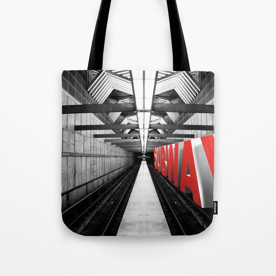 LA subway Tote Bag