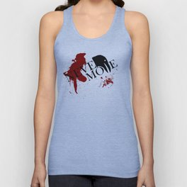 """Quoth the Raven, """"Nevermore."""" Unisex Tank Top"""