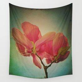 Vintage Spring Flowers Wall Tapestry