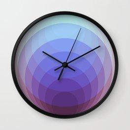 Chrome Sphere 3 Wall Clock