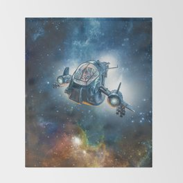 The Scout Ship Throw Blanket