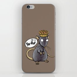 Pie-Rat iPhone Skin