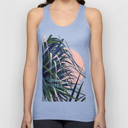 Feather Palm Unisex Tank Top