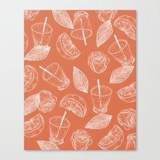 summer vibes and caesars Canvas Print