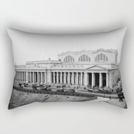 New Pennsylvania Station, New York, N.Y. Rectangular Pillow