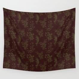 Wild Botanicals, Vintage Flowers, Vintage, Abstract, Art-Noveau Wall Tapestry