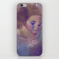 princess leia iPhone & iPod Skins featuring Princess Leia  by Mara Valladares