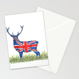 BRITISH Red Deer Stationery Cards