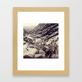 Setiembre Framed Art Print